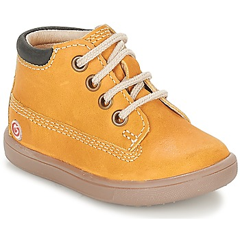 Schoenen Jongens Hoge sneakers GBB NORMAN Brown / Mosterd