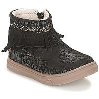 Schoenen Meisjes Laarzen GBB NEFFLE Zwart / Disco