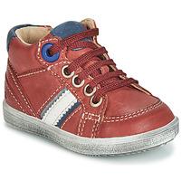 Schoenen Jongens Hoge sneakers GBB ANGELITO Bordeaux
