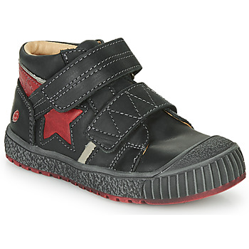 Schoenen Jongens Hoge sneakers GBB RADIS Vte / Zwart-baksteen / Dpf / Linux