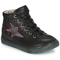 Schoenen Meisjes Lage sneakers GBB MARTA Vte / Noir-disco / Dpf / Dolby