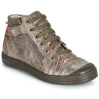 Schoenen Meisjes Hoge sneakers GBB DESTINY Taupe / Roze