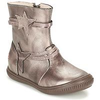 Schoenen Meisjes Laarzen GBB NOTTE Taupe / Brons