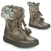 Schoenen Meisjes Hoge laarzen GBB NOUSTIK Brons