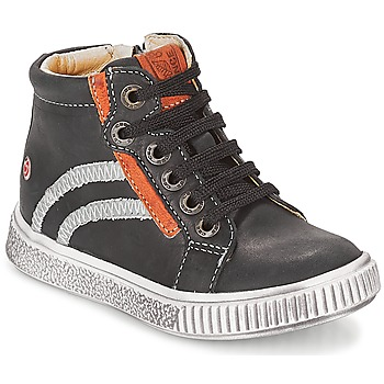 Schoenen Jongens Hoge sneakers GBB NESTOR Zwart