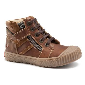 Schoenen Jongens Hoge sneakers GBB RAMBOUTAN Vte / Brown / Dpf / Linux