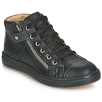 Schoenen Jongens Hoge sneakers GBB NICO Vte / Zwart / Dpf / 2835
