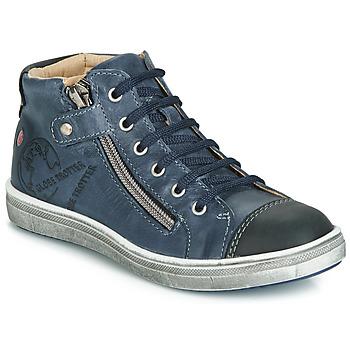 Schoenen Jongens Hoge sneakers GBB NICO Vte / Marine / Dpf / 2835