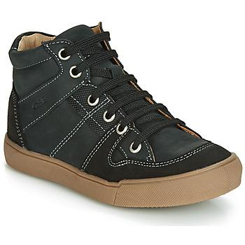 Schoenen Jongens Hoge sneakers GBB NEMOON Vtc / Zwart / Dpf / Wit