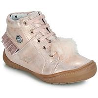 Schoenen Meisjes Hoge sneakers Catimini ROSALIE Vte / Roze / Poudré / Dpf / 2822
