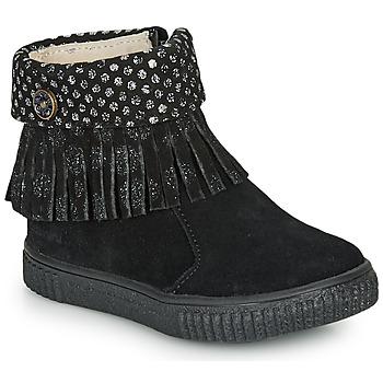 Schoenen Meisjes Laarzen Catimini PERETTE Zwart