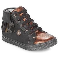 Schoenen Meisjes Hoge sneakers Catimini LOULOU Zwart /  cuivré