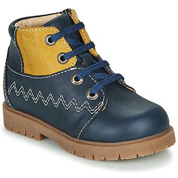 Schoenen Jongens Hoge sneakers Catimini CHARLY Vtu / Marine-moutarde / Dpf / 2900