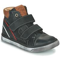 Schoenen Jongens Hoge sneakers Catimini ROBBY Zwart