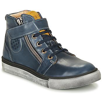 Schoenen Jongens Hoge sneakers Catimini TOBBY Marine