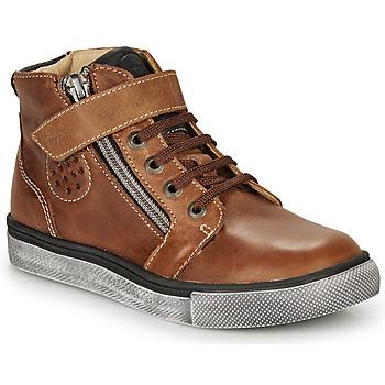 Schoenen Jongens Hoge sneakers Catimini TOBBY Brown
