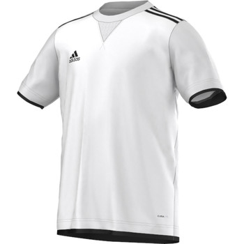 Textiel Jongens T-shirts korte mouwen adidas Performance Maillot Core 11 Junior Wit
