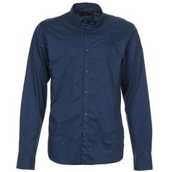 Textiel Heren Overhemden lange mouwen Les voiles de St Tropez ACOUPA Marine