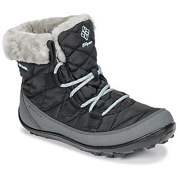 Schoenen Kinderen Snowboots Columbia YOUTH MINX™ SHORTY OMNI-HEAT™ WATERPROOF Zwart