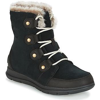 Schoenen Dames Laarzen Sorel SOREL™ EXPLORER JOAN Zwart