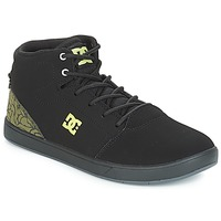 Schoenen Kinderen Hoge sneakers DC Shoes CRISIS HIGH SE B SHOE BK9 Zwart / Groen