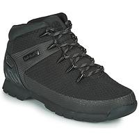 Schoenen Heren Laarzen Timberland Euro Sprint Fabric WP Zwart