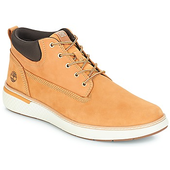Schoenen Heren Hoge sneakers Timberland Cross Mark PT Chukka Graan
