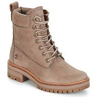 Schoenen Dames Laarzen Timberland Courmayeur Valley YBoot Brown