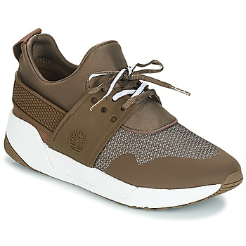 Schoenen Dames Lage sneakers Timberland Kiri Up Knit Oxford w/PU Brown