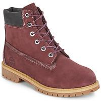 Schoenen Kinderen Laarzen Timberland 7 In Premium WP Boot Bordeaux