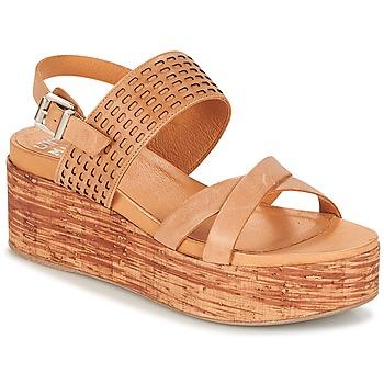 Schoenen Dames Sandalen / Open schoenen Un Matin d'Ete DAO Brown