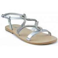 Schoenen Dames Sandalen / Open schoenen Oca Loca OCA LOCA  METALIZADA ADORNO STRASS ORO PLATA