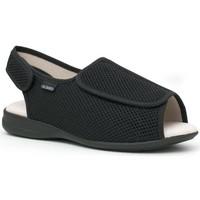 Schoenen Leren slippers Calzamedi S NEGRO