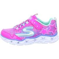 Schoenen Meisjes Lage sneakers Skechers Galaxy Lights Kinder Rose