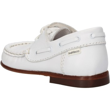 Schoenen Jongens Sneakers Balducci sneakers bianco pelle AG923 Bianco