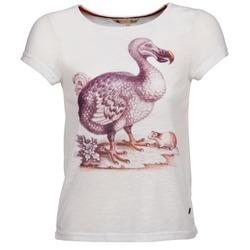Textiel Dames T-shirts korte mouwen Yumi BOTAN Wit