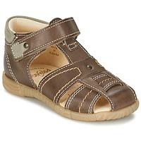 Schoenen Jongens Sandalen / Open schoenen Primigi LARS E Brown