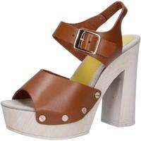 Schoenen Dames Sandalen / Open schoenen Suky Brand AC482 Marron