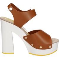 Schoenen Dames Sandalen / Open schoenen Suky Brand AC483 Marron