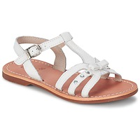 Schoenen Meisjes Sandalen / Open schoenen Aster VALENTINA Wit