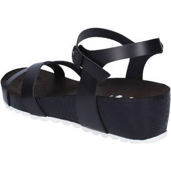 Schoenen Dames Sandalen / Open schoenen 5 Pro Ject sandali nero pelle bianco AC700 Nero