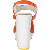Schoenen Dames Sandalen / Open schoenen Suky Brand AC802 Orange