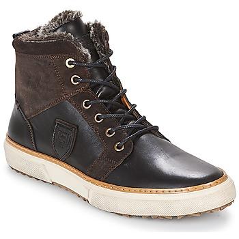 Schoenen Heren Hoge sneakers Pantofola d'Oro BENEVENTO UOMO FUR MID Brown