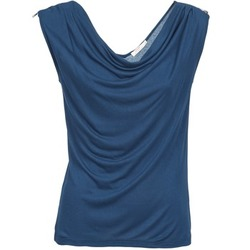 Textiel Dames Mouwloze tops DDP CARLA Marine