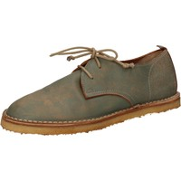 Schoenen Dames Derby & Klassiek Moma classiche verde pelle AD49 Verde