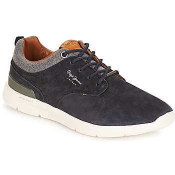 Schoenen Heren Lage sneakers Pepe jeans Jayden Marine
