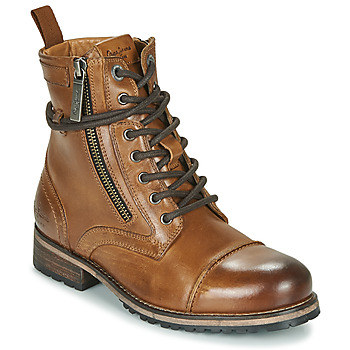 Schoenen Dames Laarzen Pepe jeans Melting Brown