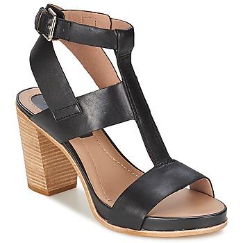 Schoenen Dames Sandalen / Open schoenen Marc O'Polo GOSPEI Zwart