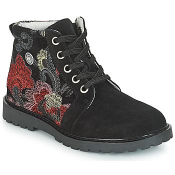 Schoenen Meisjes Laarzen Catimini CAHAUT Zwart