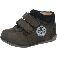 Schoenen Jongens Hoge sneakers Balducci sneakers blu pelle scamosciata AD590 Blu